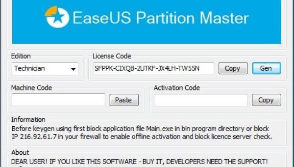 EaseUS Partition Master 13.8 KEYGEN + Crack Free 2020